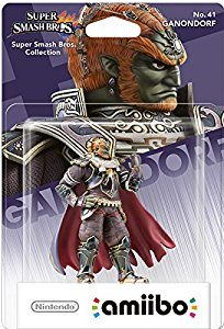 nintendo amiibo 39 super smash bros 39 ganondorf un amiibo. Black Bedroom Furniture Sets. Home Design Ideas